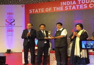 Arunachal Pradesh gets Best Performing Small State in Education award 3