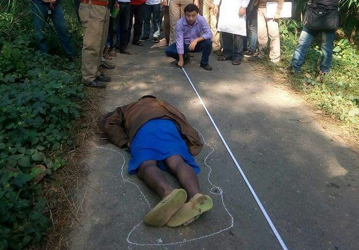 File picture of BJP supporter killed on Wednesday night.