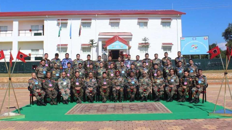 India, Myanmar start joint military exercise at Umroi 1