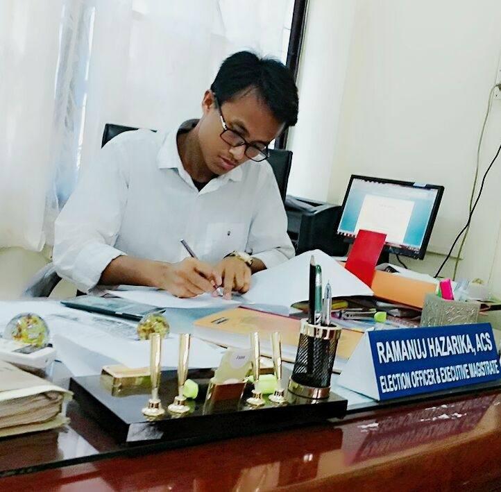 APSC: ACS officer Ramanuj Hazarika resigns as Dhemaji Election Officer 1