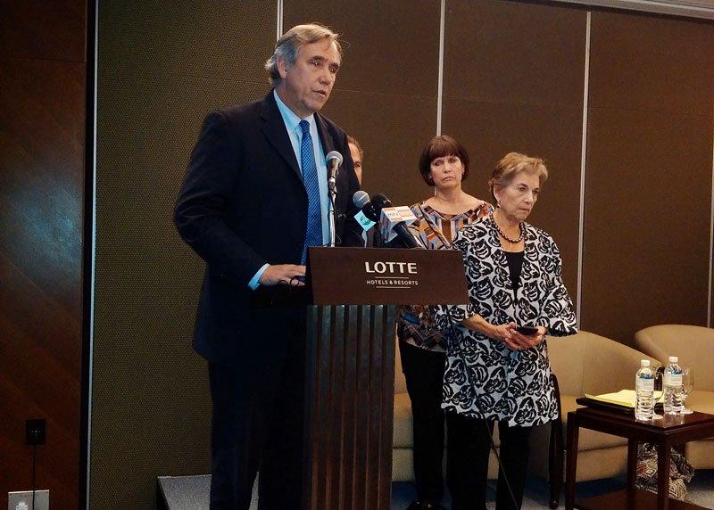 Senator Jeff Merkley. Photo by Mizzima News