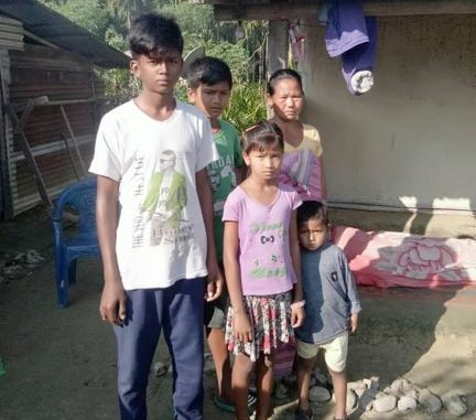 Family members of the victim