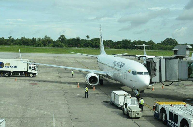 Yangon International Airport, Yangon. Photo: Mizzima News