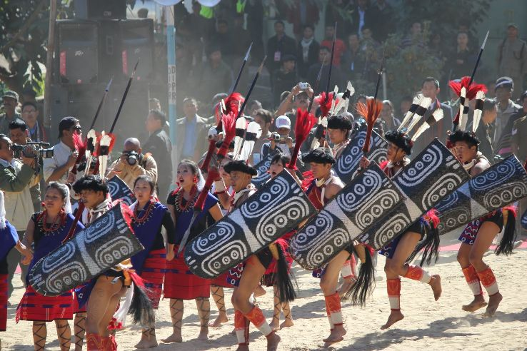 File picture of hornbill festival in Nagaland.