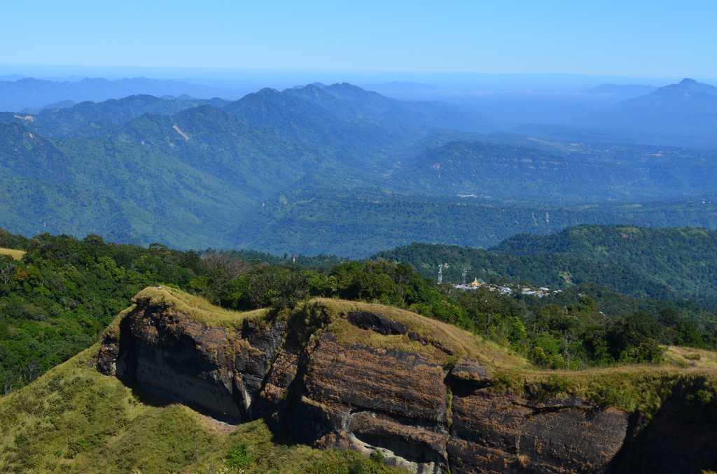 Landscape of Mizoram