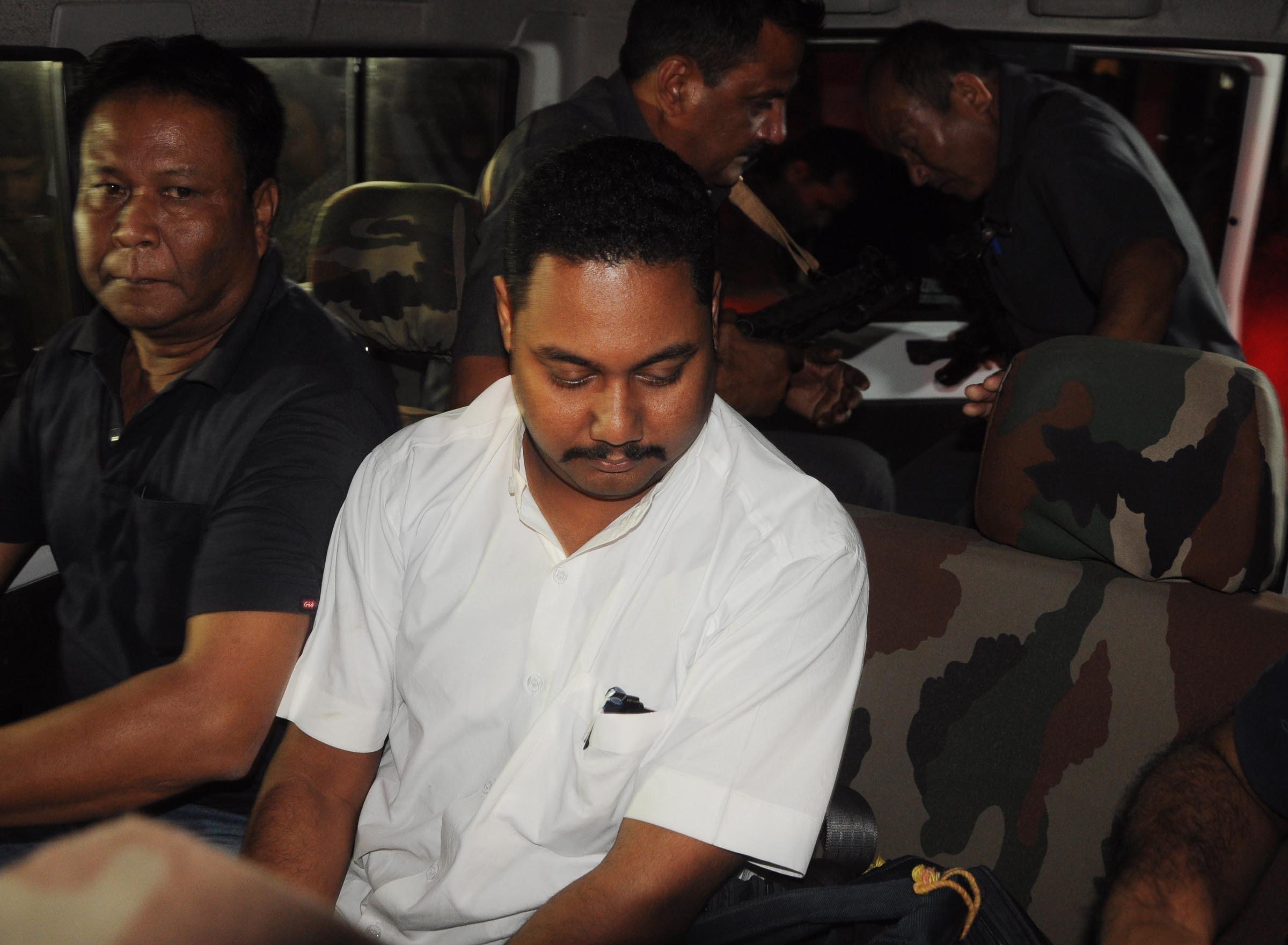 Rajashree sen Deka at court in Guwahati.