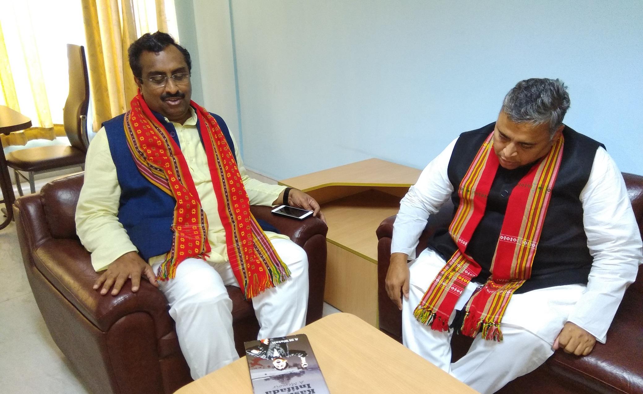 BJP national general secretary Ram Madhav in Agartala. (File image)