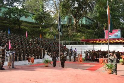 Valedictory function of Sampriti 2017 at Vairengte in Mizoram
