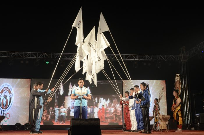 Nagaland Olympics gets off to a colourful start in Dimapur 1