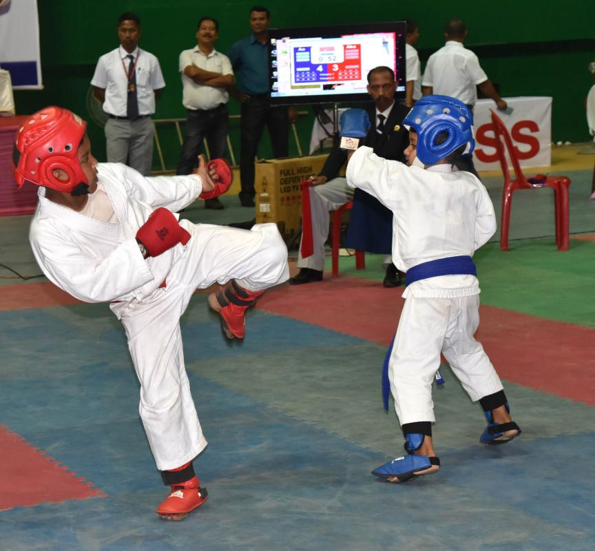 Arunachal shines bright in NE India Karate Do Championship 1