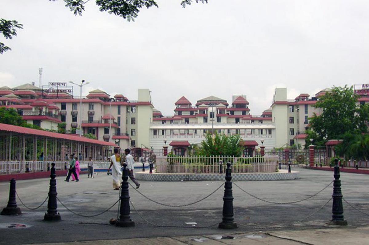 Janata Bhavan.