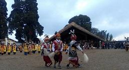 Annual Nongkrem dance celebrated at Smit in Meghalaya 1
