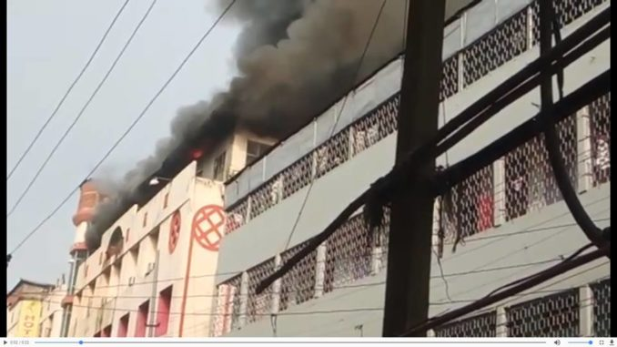 Major fire at Fancy Bazaar in Guwahati, business establishments gutted 1