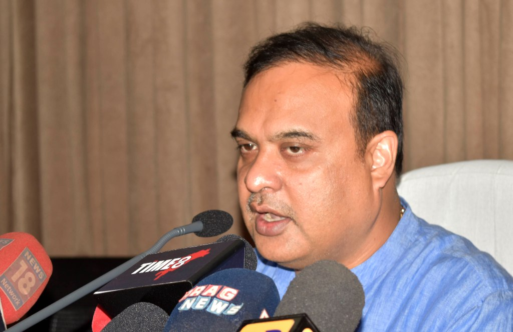 Minister Himanta Biswa Sarma