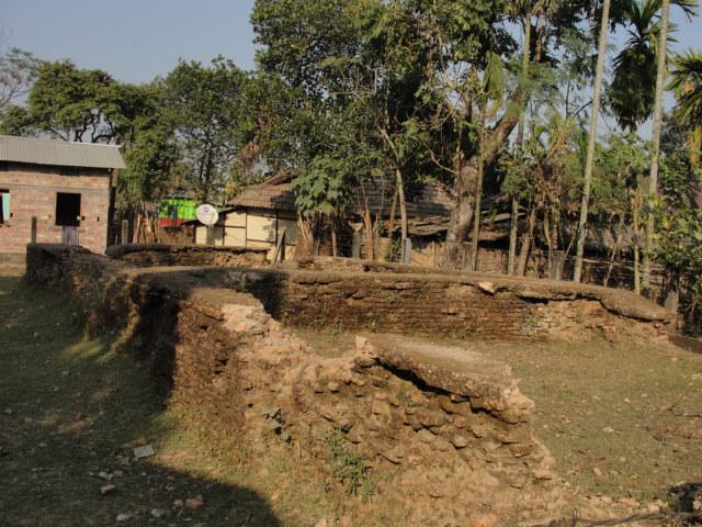 A view of Kajalichaki village on the outskirts of Guwahati