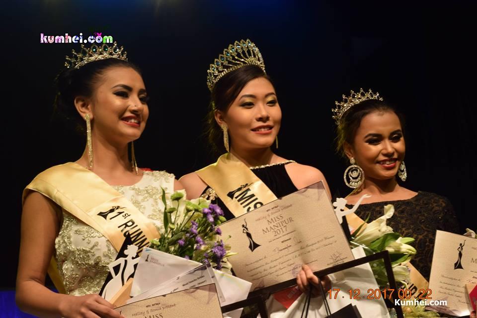 Miss Manipur 2017 winners. Photo : kumhei.com