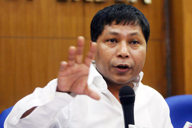 File picture of Meghalaya Chief Minister Mukul Sangma.