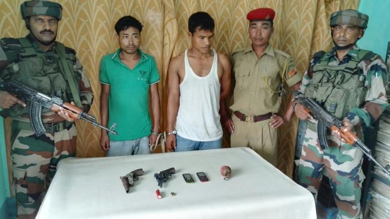 Two NDFB (S) rebels held in Kokrajhar 1