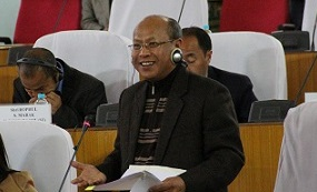 File picture of former Congress minister Prestone Tynsong.