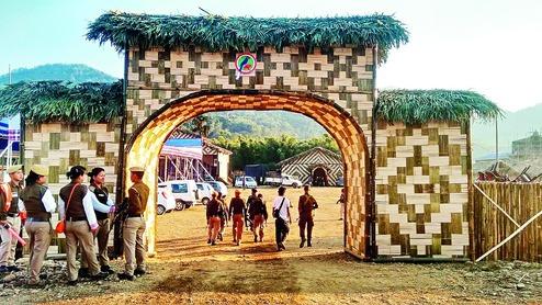 Pangshu Pass winter festiva