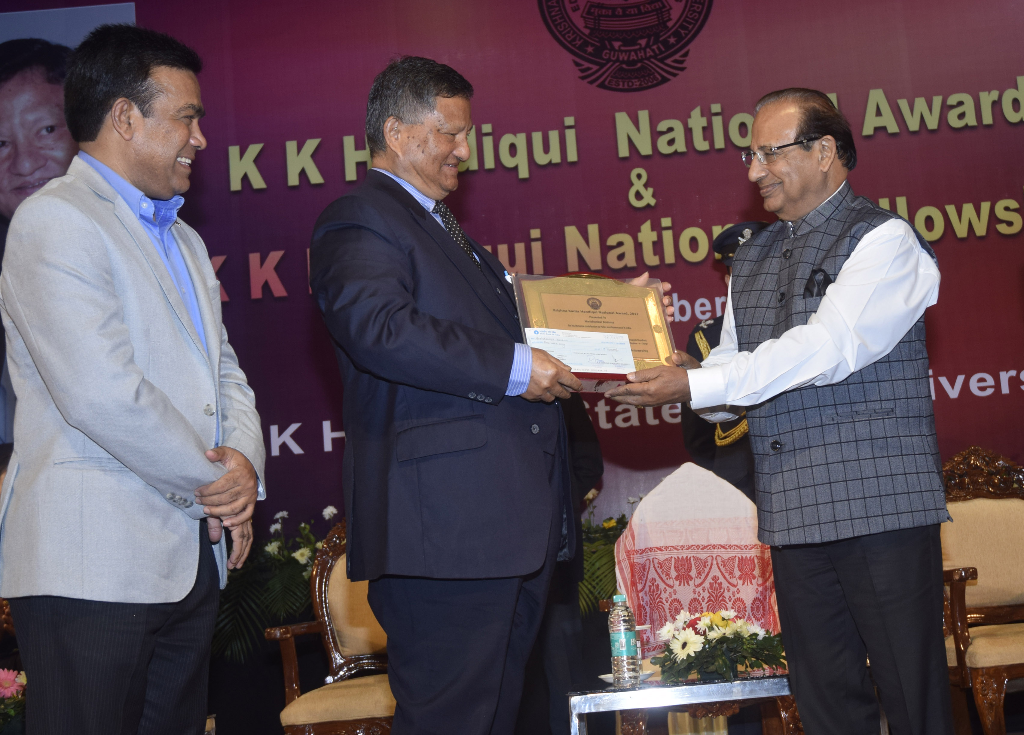 KK Handiqui National Awards given away 1