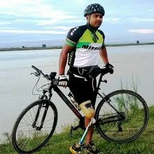 Meet para-cyclist Rakesh: The man with a mission to save rhinos in Assam 1