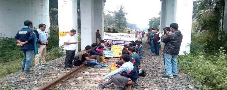 Tripura school teachers call off road, railway blockade 1