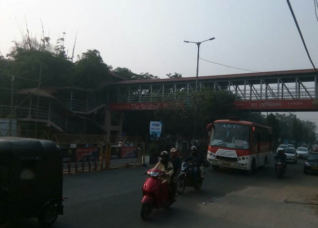 Dispur foot over bridge