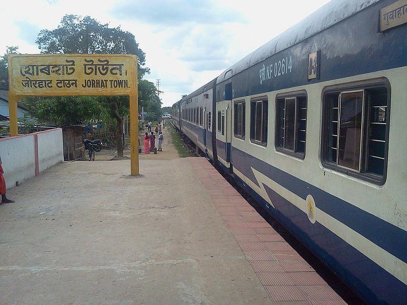 Representative image of Jorhat town.