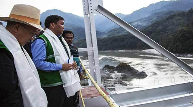 Arunachal CM sends Siang River report to Centre 2