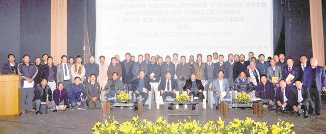 Nagaland Chief Minister T R Zeliang bats for unity to resolve Naga issue; four-point resolution adopted at the Consultative Meet 1
