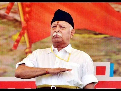 File picture of RSS chief Mohan Bhagwat.
