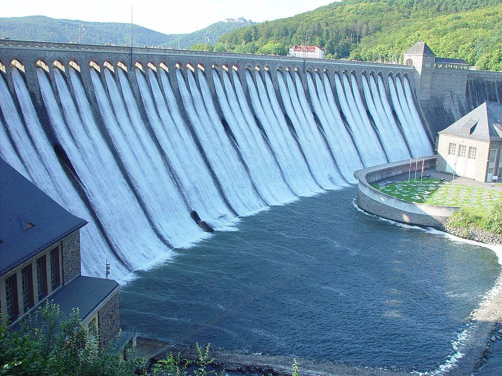 File picture of Tuirial Power Project in Mizoram