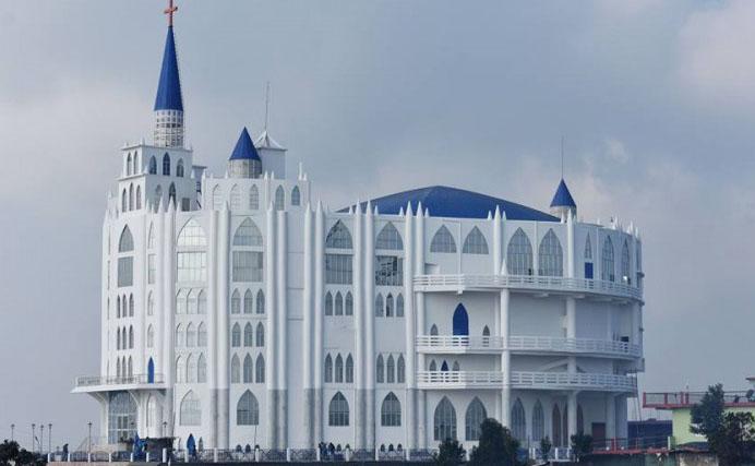 Asia's largest church in Nagaland, The Sumi Baptist Church Representative image