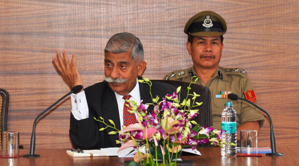 Arunachal Pradesh Governor BD Mishra. File photo