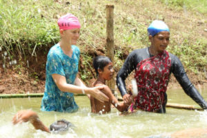 Swim feat for awareness about drowning in Bangladesh 4