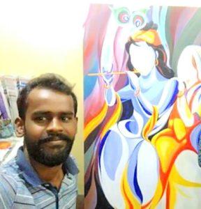 Priyanka on gamusa, an initiative of a Barpeta youth 1