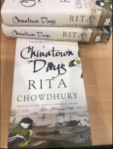 Rita Chowdhury's novel 'Chinatown Days' goes on sale at World Book Fair 1