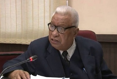 File picture of former Meghalaya CM D D Lapang.