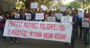 Dima Hasao firing: Delhi Action Committee stages protest, seeks judicial probe 2