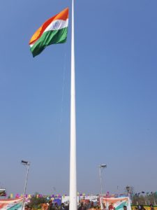 Imphal airport flag