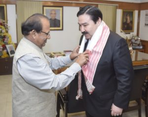 Kazakhstan ambassador calls on Assam Governor 1