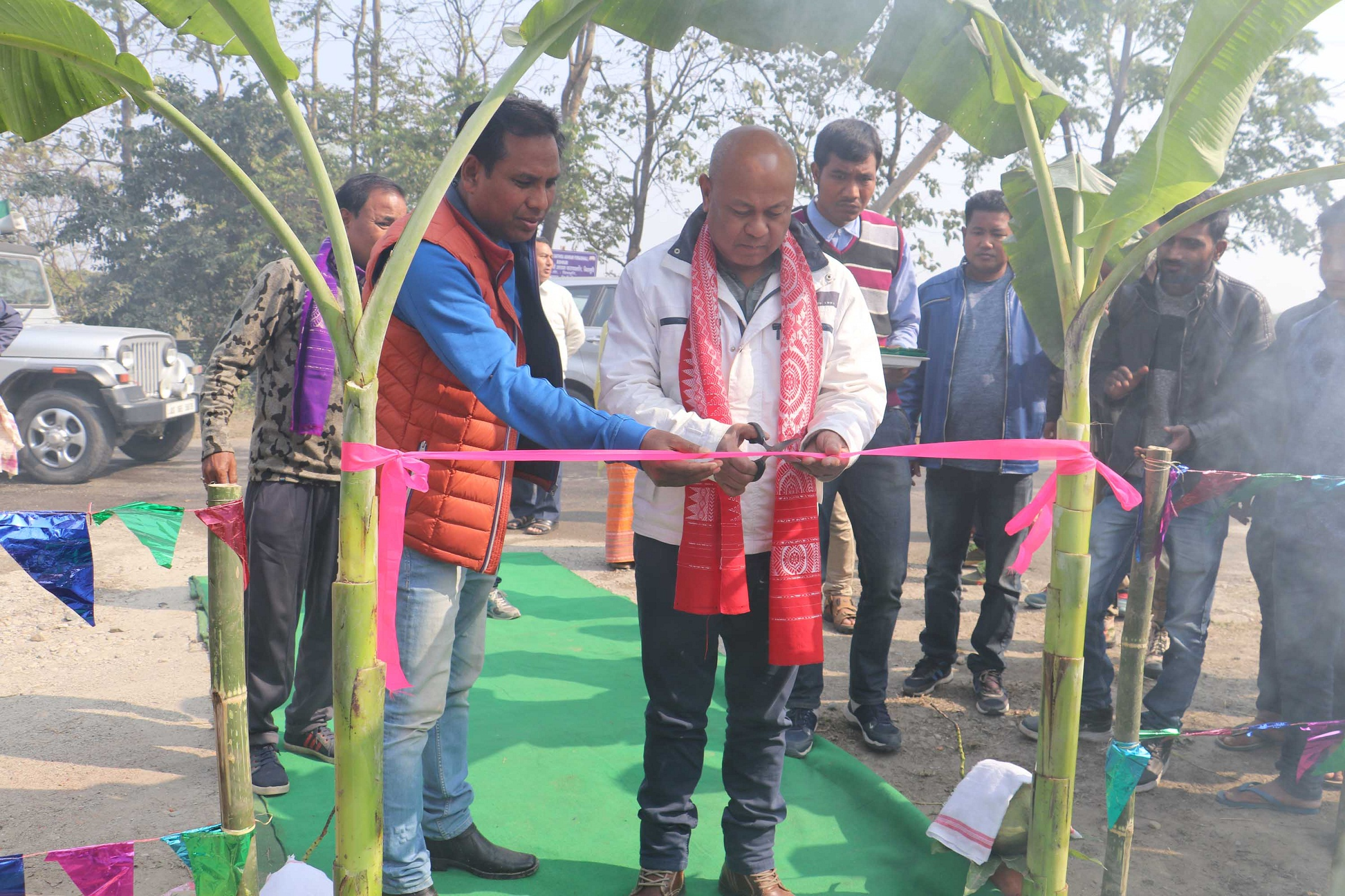 BTC chief lays foundation stones of 18 projects in Kokrajhar 1