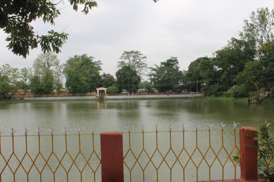 Historic Rajmao pond in Jorhat