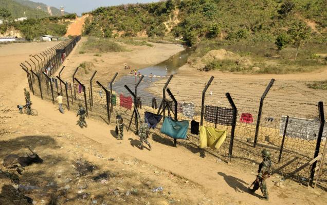 India-Myanmar-border