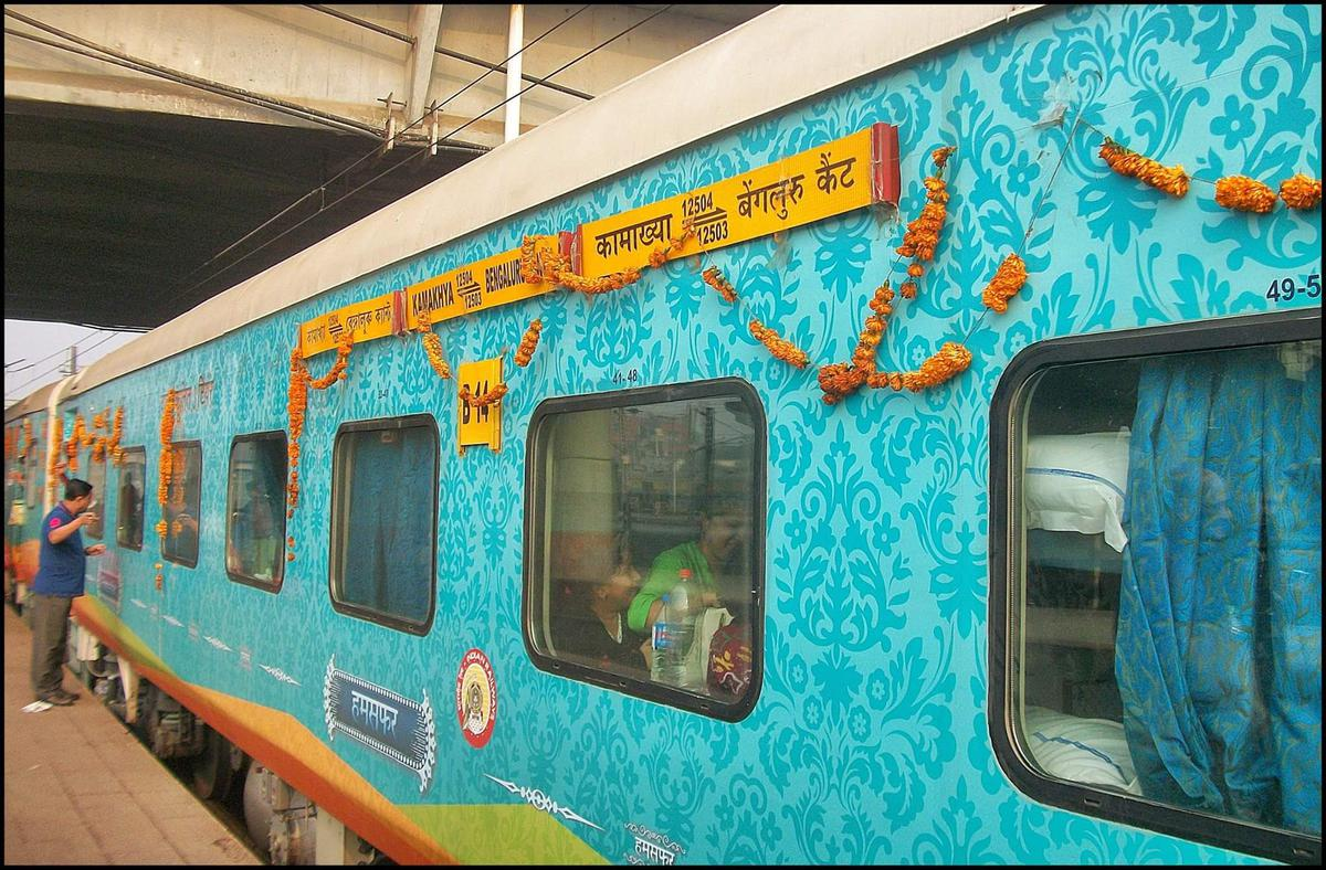 Kamakhya-Bangalore Humsafar Express to connect Tripura 1