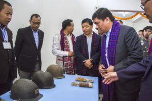 Khandu inaugurates World War II Memorial Museum at Jairampur 2