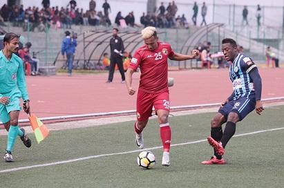 Opoku dashes Lajong FC's hope to halt Minerva's dream run in I-League 1