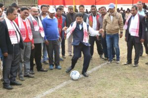 Village panchayat football tournament gets underway in Assam's Bokakhat 3