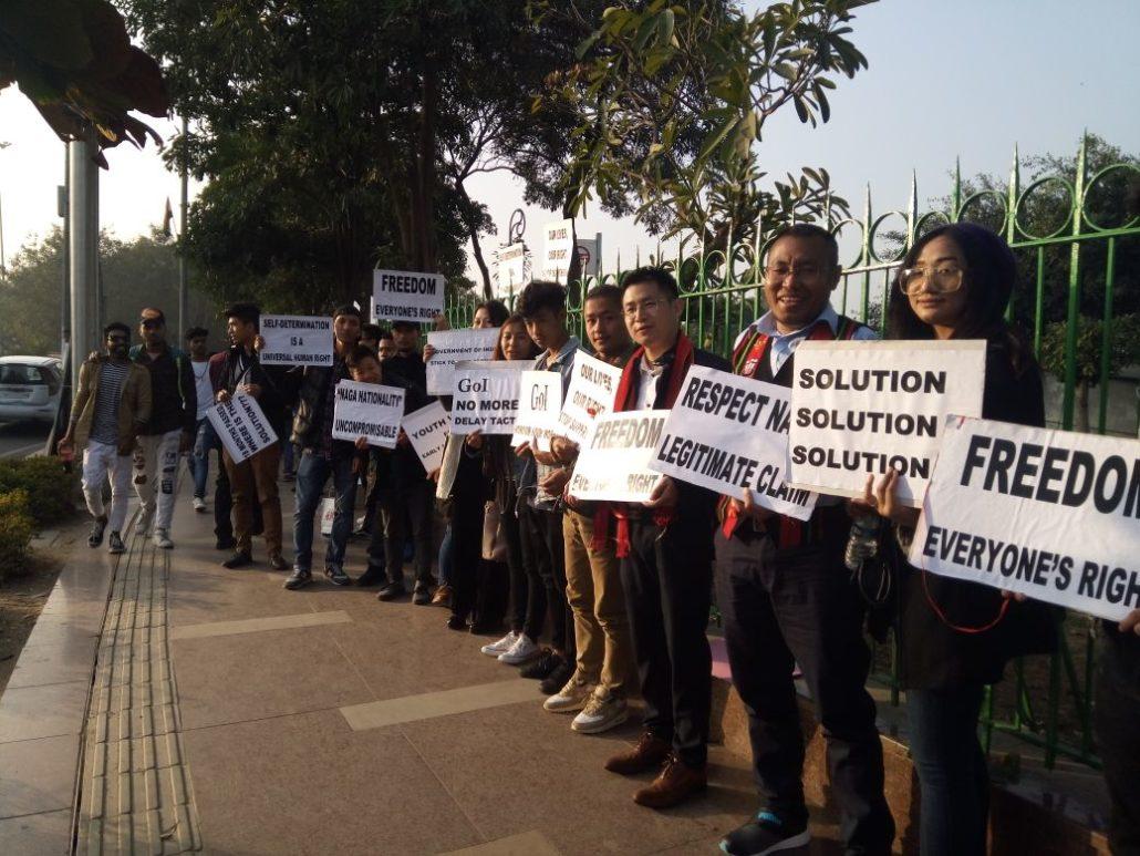 Naga students body New Delhi